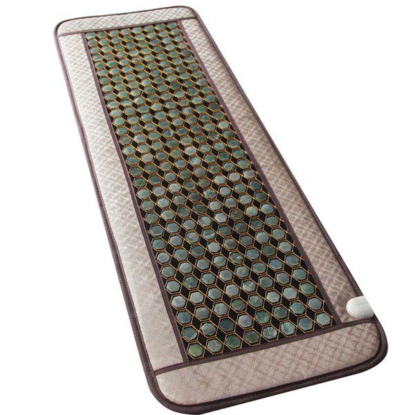 2016 Natural Jade heat mat jade yoga pad hemorrhoids & prostatitis health care jade Infrared heat mat ac220v