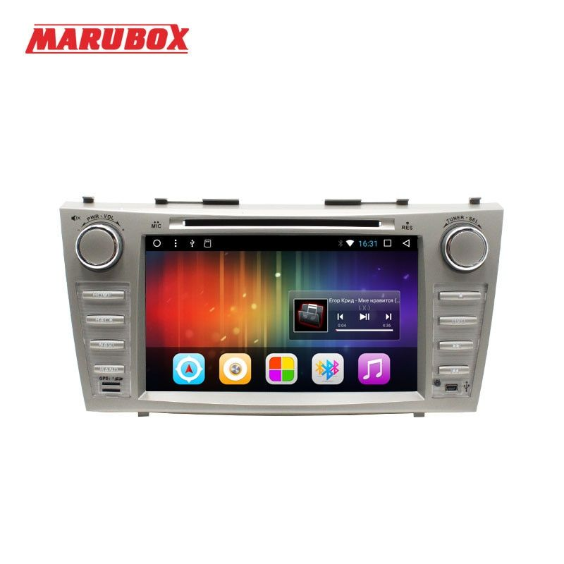 MARUBOX 2 DIN Android 7.1 Head Unit For Toyota Camry 2006-2011 GPS Navi Stereo Radio Car Multimedia Player With DVD 8A101DT3