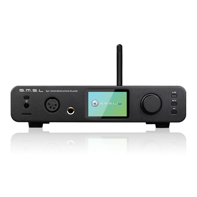 SMSL DP3 USB DAC Bluetooth Amplifier Audio Decoder with Headphone Amplifier Hifi Bluetooth Dac Audio Amplifier DSD Player Amp