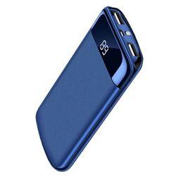 20000 mah Puissance Banque Externe Batterie PoverBank 2 USB LCD Powerbank Portable Mobile téléphone Chargeur pour Xiaomi MI 18650