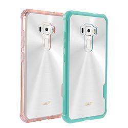 Hybrid Shockproof Penutup Bantalan Udara Bingkai Kasus Acrylic Crystal Clear Kembali Shell Phone Bag Untuk Asus ZenFone 3 ZE520KL 5.2 inch