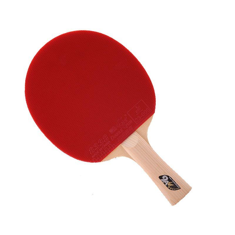 Doppel fish9A Dual carbon faser tisch tennis schläger 7 PLY schichten klinge lange griff horizontale grip tischtennis paddel offensive