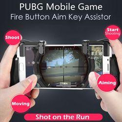 PUBG juego móvil disparar fuego botón de disparo objetivo clave L1 R1 Gamepad Joystick Android IOS Smartphone juego Assist herramienta