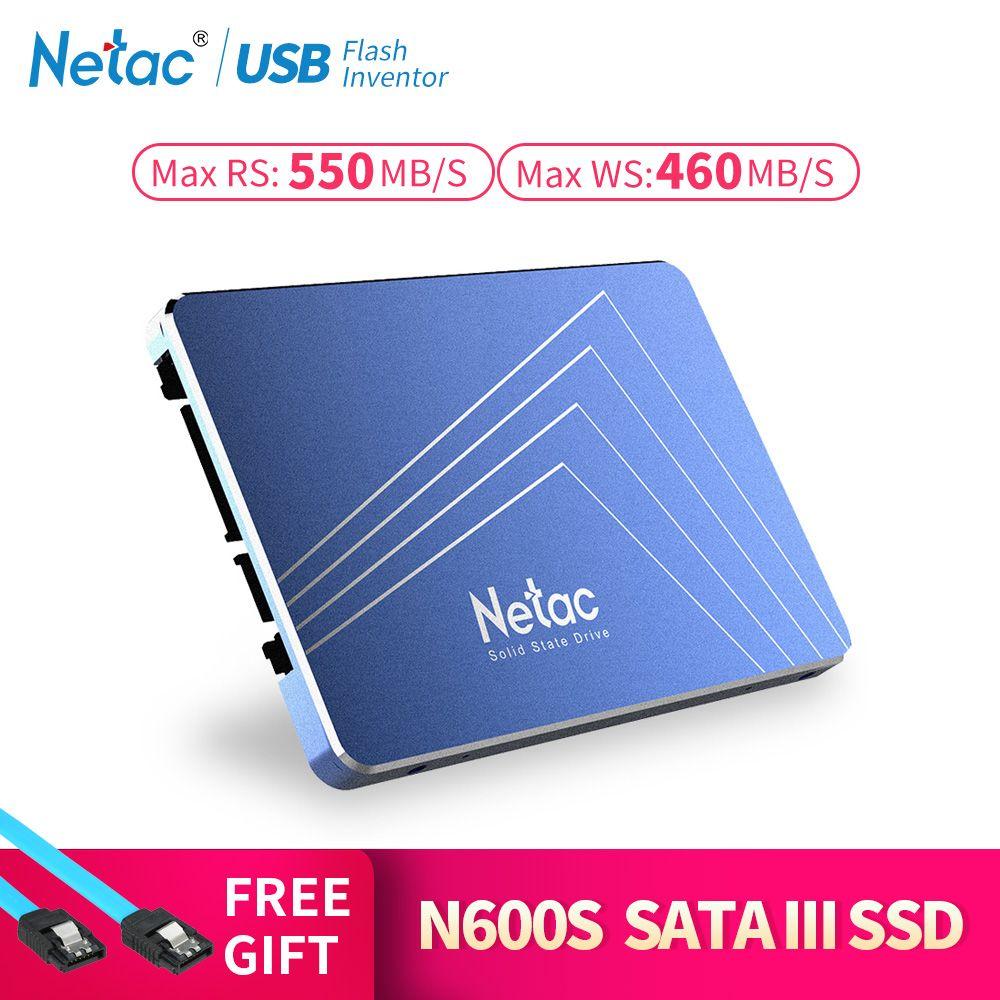 Netac N500S SSD 240 GB 2.5 ''480 GB SSD 120 GB 1 TB disque dur TLC 60 GB Interne Solide state Drive 720 GB ordinateur portable Disque Dur
