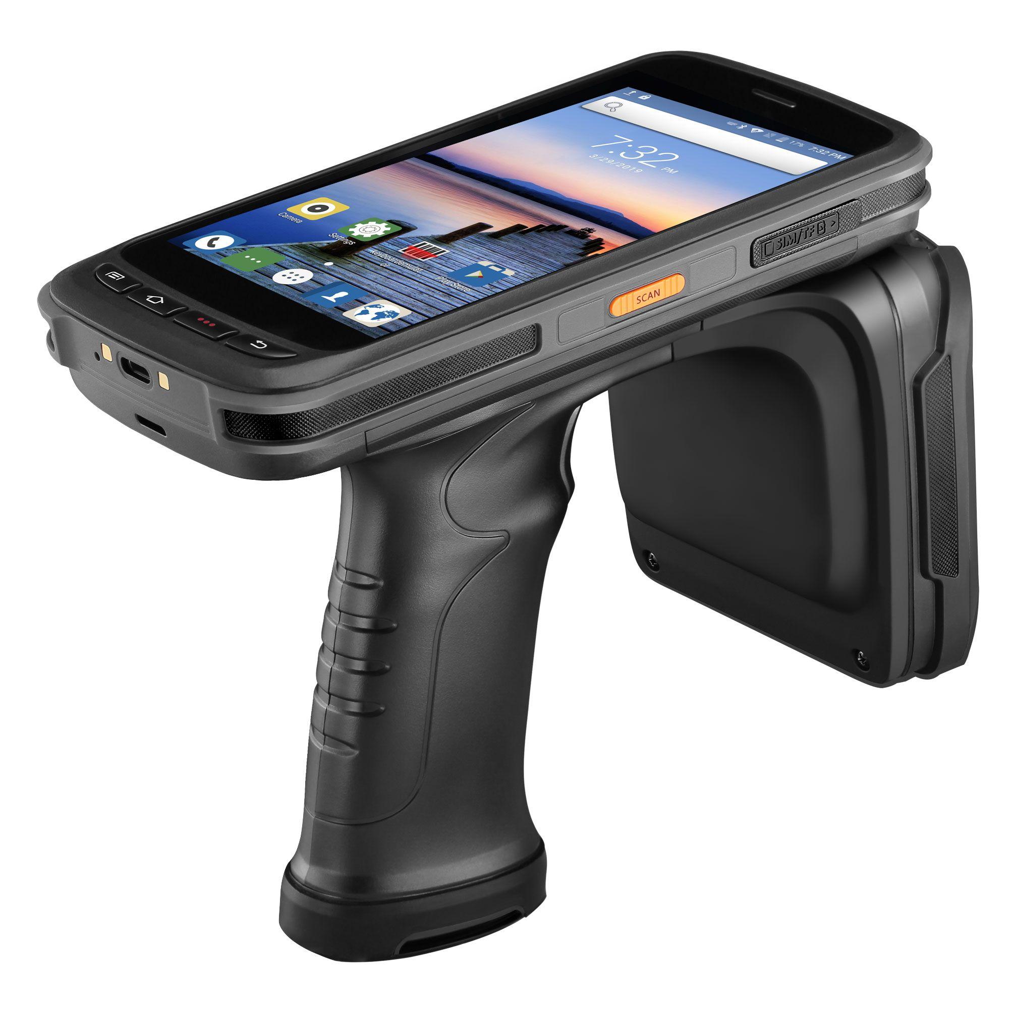 IssyzonePOS Robuste PDA Handheld Android POS Terminal Zebra barcode Scanner 2D NFC 4G WiFi daten sammler UHF RFID Leser