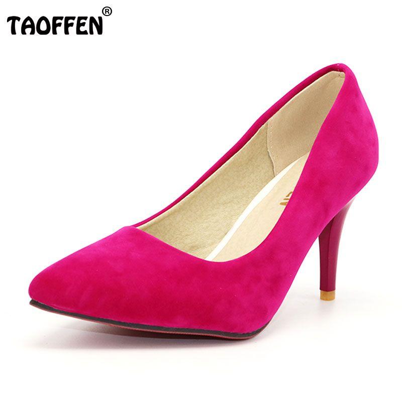 TAOFFEN Señora Flor de Las Mujeres plataforma de los tacones altos zapatos de Las Mujeres de ultra tacones altos Patchwork Vestido de noche zapatos de las Bombas de tamaño 31-42 P16558