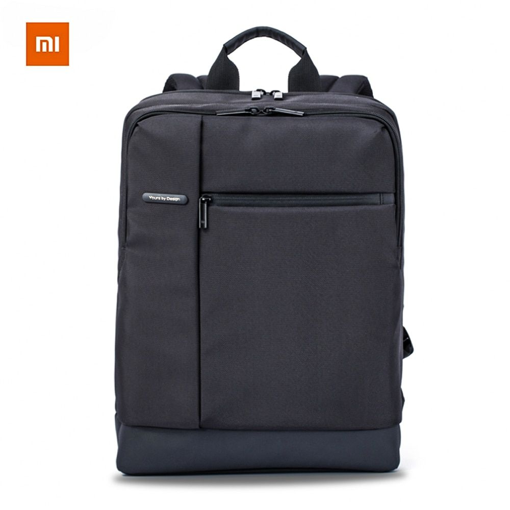 Original Xiaomi Classic Business Mi Backpack Women Bag Backpack Large <font><b>Capacity</b></font> Students Business Bags Suitable for 15inch Laptop