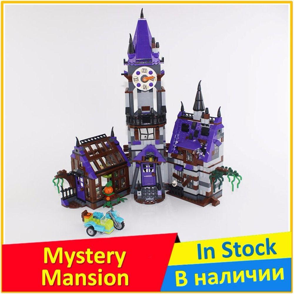 Mystery Mansion 75904 Building Blocks Model Educational Toy For Children BELA 10432 Compatible legoes Scooby Doo Bricks Figure