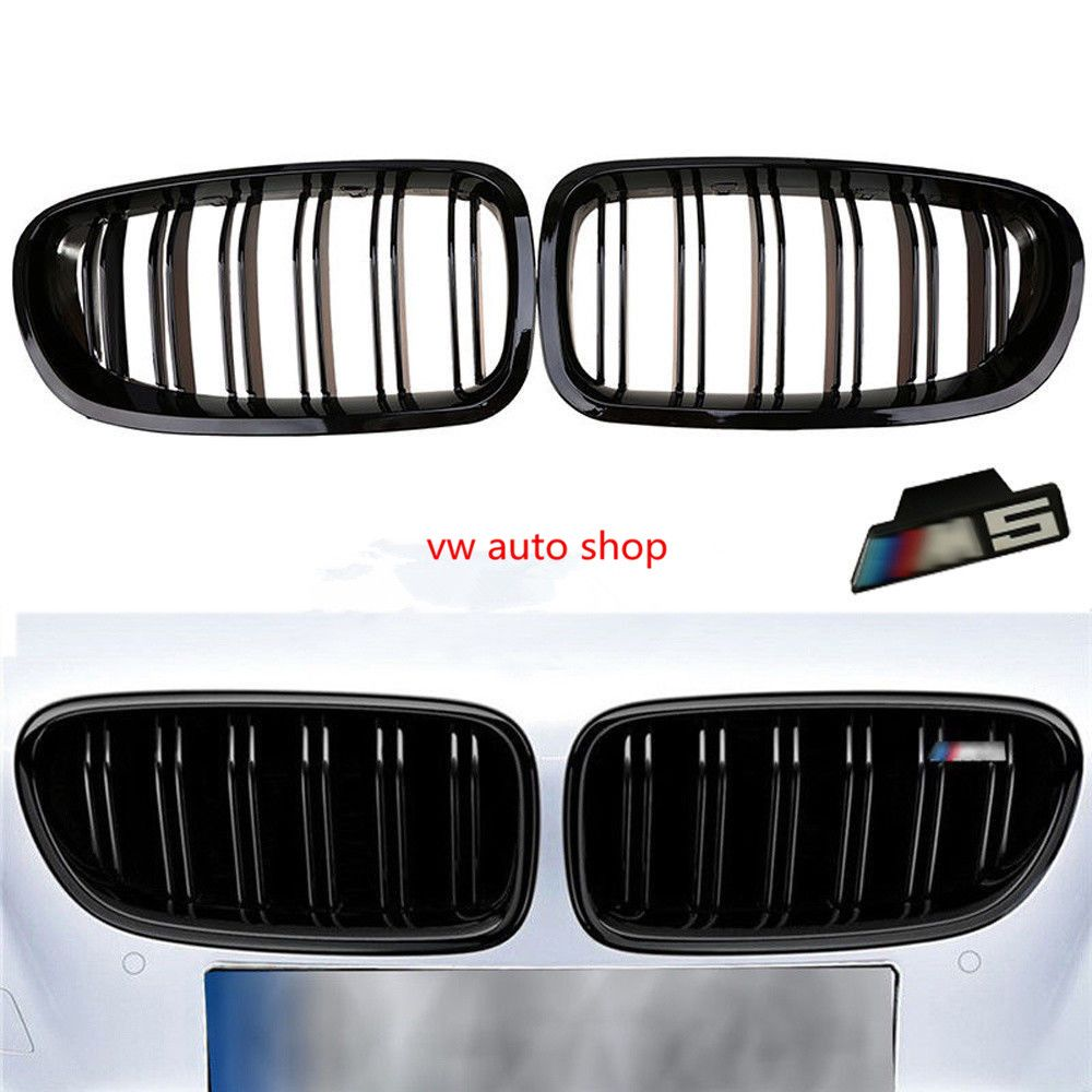 Gloss Black Front Kidney Grille For BMW F10 F18 M5 5 Series 528i 535i 2011-2016 F10 5 Series 520i 523i 525i 530i 535i 2010-2016