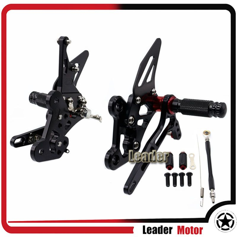 For YAMAHA FZ1 2006-2014 FZ8 2010-2013 Motorcycle Accessories Rearset Rear Foot pegs Set