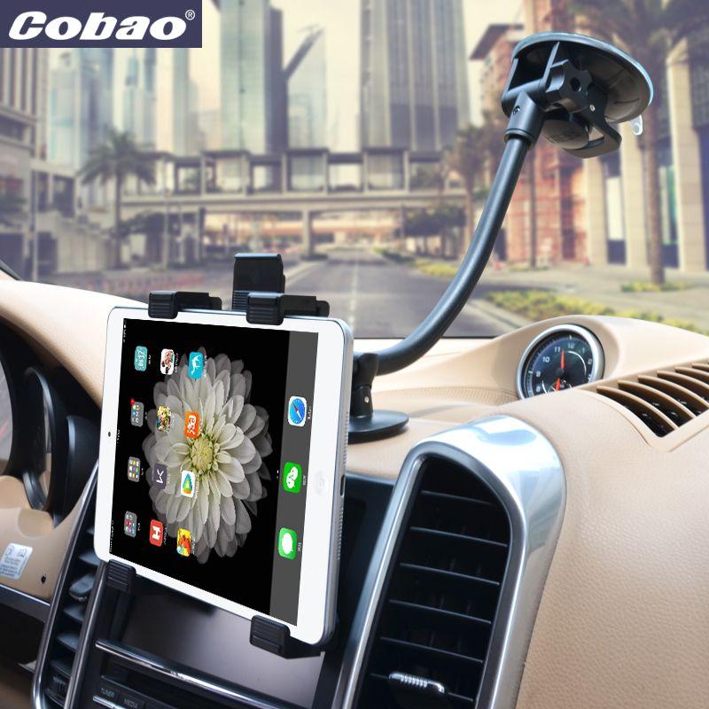 Universal Tab Autohalterung Tablet Windschutzscheiben-einfassungs-halter-standhalterung Langen Arm Support Halter 360 Drehung mit 5 ''und 11'' Halter für Tablet