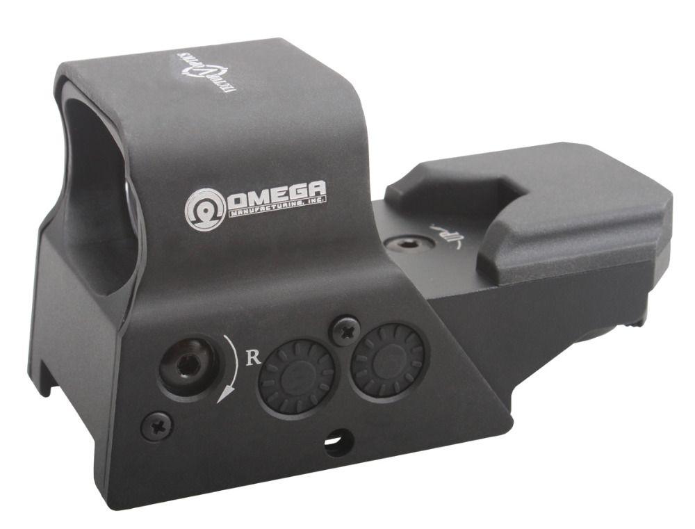 Vektoroptik Omega Taktische Reflex 8 Absehen Roter Punkt-anblick High-end-qualität Rahmen fit für. 223 AR15 7,62 AK47 12ga