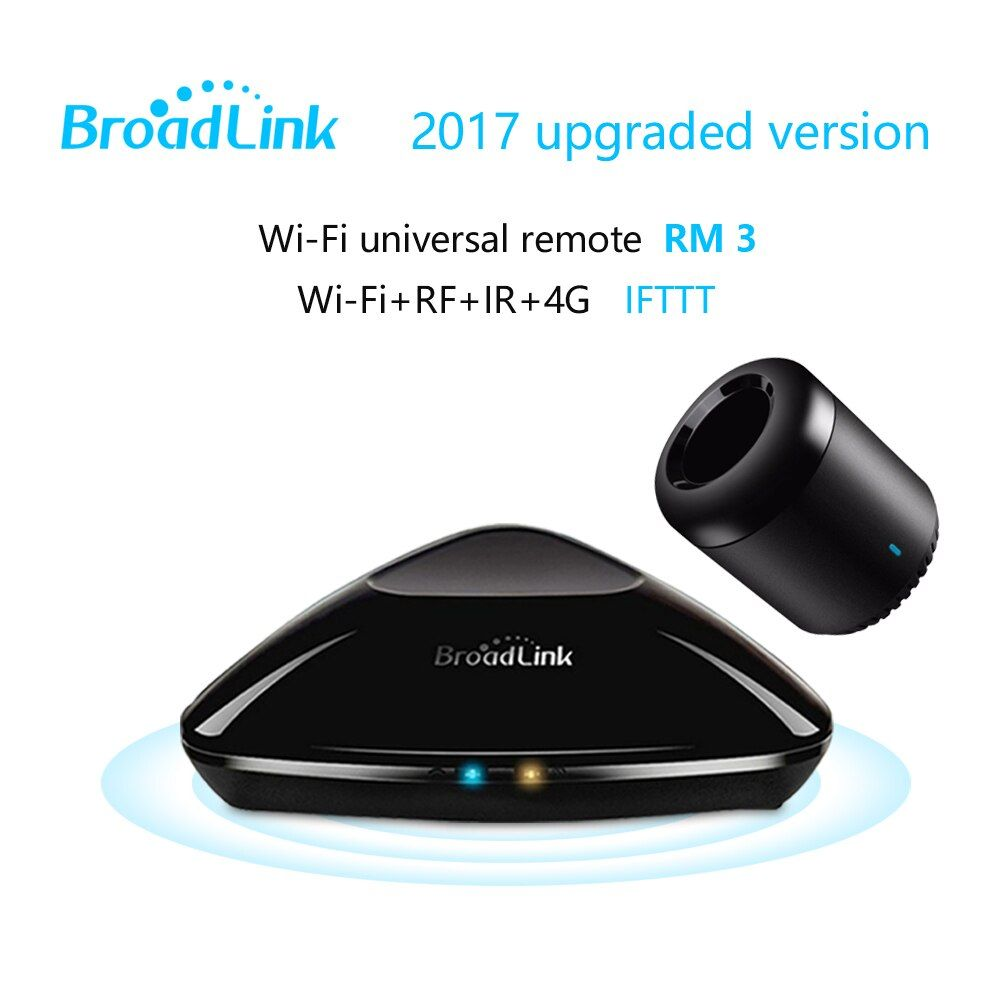 2018 Broadlink RM Pro+RM mini3 Universal Intelligent controller,Smart home Automation,WIFI+IR+RF remote control IOS Android