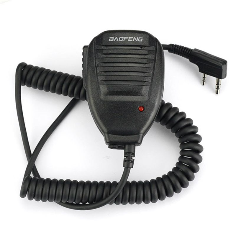 Baofeng Haut-Parleur Microphone pour Baofeng talkie walkie UV-5R UV-5RA/B/C/D/E UV-3RPlus BF-888S UV-82 Dual Band Ham Two-way Radio