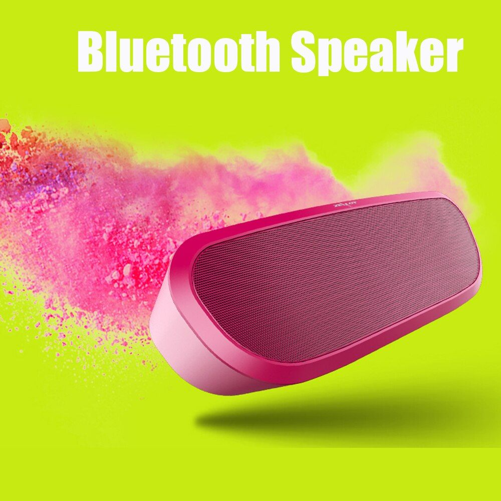 Zealot S9 Bluetooth Speaker Portable Wireless Outdoor Speaker HiFi Stereo Bass Party Music box for Phones,PC with sd Card Slot