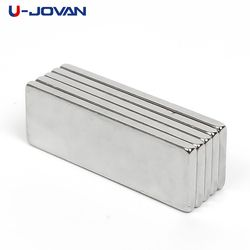 U-JOVAN Hot Sale 10pcs Super Strong Cuboid Block Neodymium Magnet Rare Earth N35 30 x 10 x 2 mm