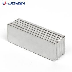 U-JOVAN Vente Chaude 10 pcs Super Strong Cuboid Bloc Aimant Néodyme Rare Earth N35 30x10x2mm