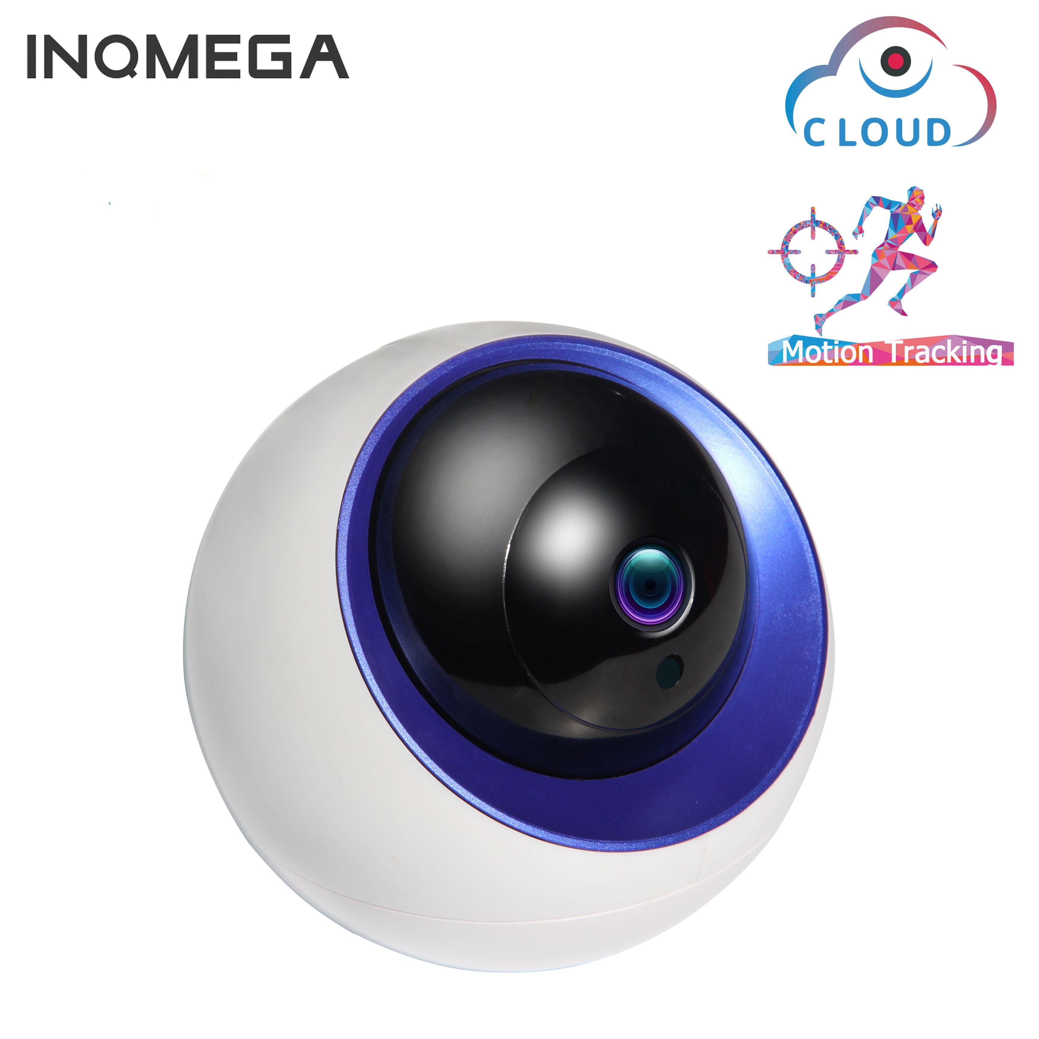 INQMEGA Wolke IP Dome Kamera Auto Tracking 4MP 1080 P Indoor Hause Sicherheit Überwachung CCTV Kamera Infrarot/Audio/ alarm/Pan/Tilt
