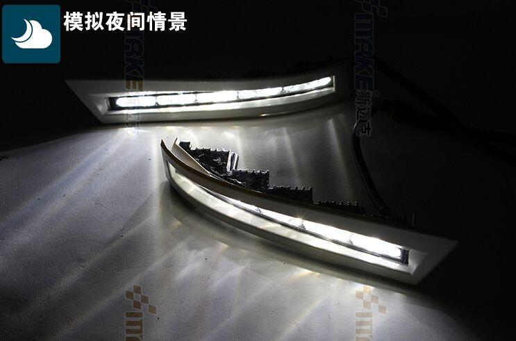 led drl daytime running light for Hilux vigo 2012+ top quality xenon bright