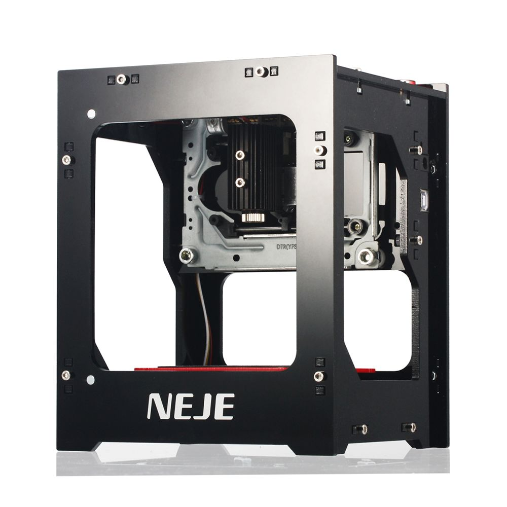 NEJE Mini USB Laser Engraving Machine DK-8-KZ 1000mW DIY Automatic CNC Wood Router Laser Cutter Printer Engraver Cutting Machine