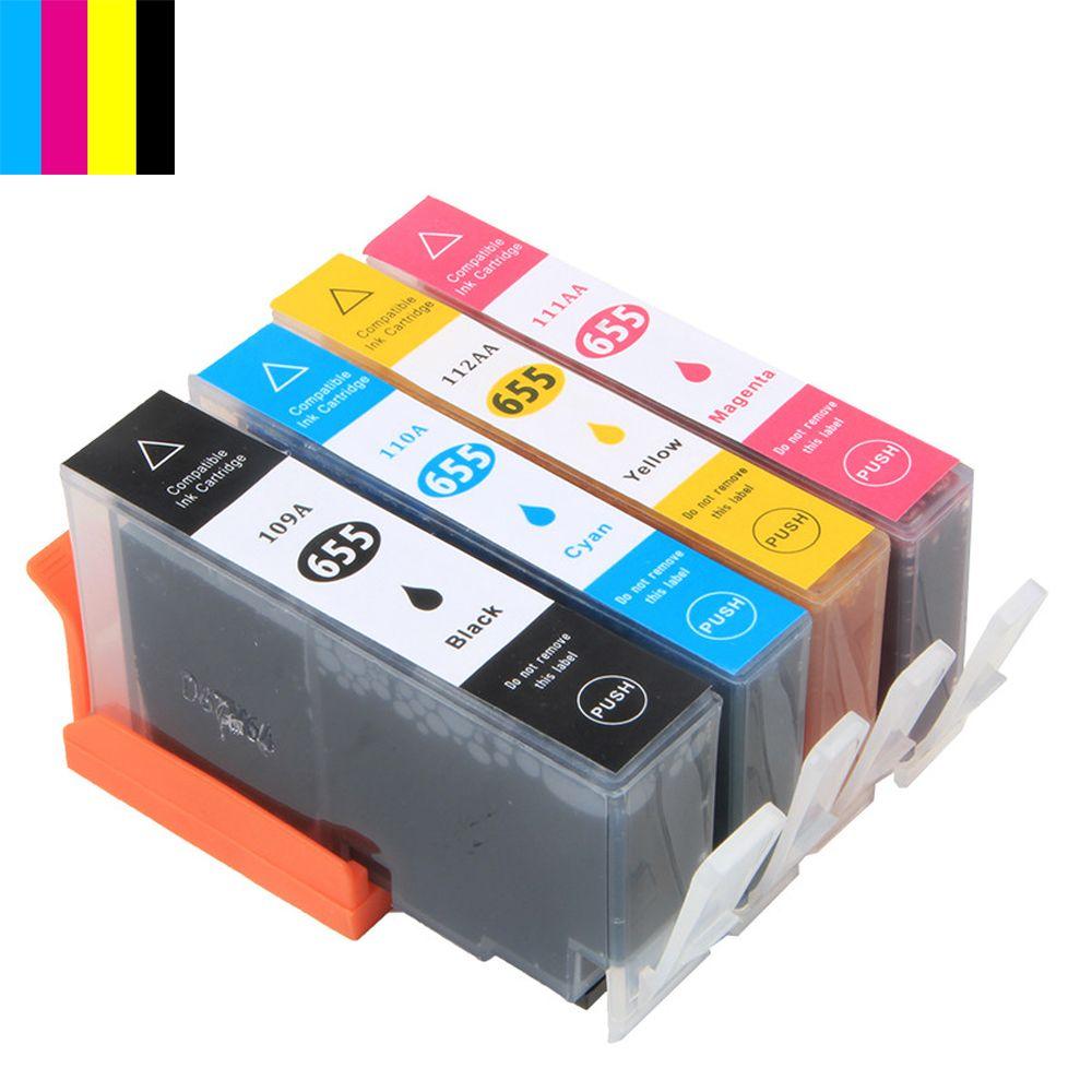 Hisaint для HP чернила для HP 655, картридж для HP Deskjet 3525 4615 4625 для HP 655 cz109ae cz110ae cz111ae ca112ae