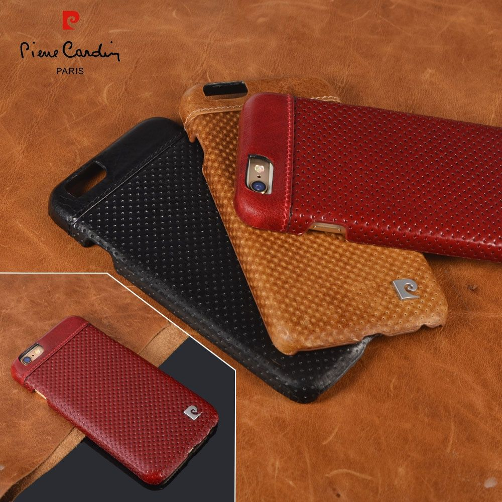 Genuine Leather Hard Case For iPhone 6/6s 6/6s Plus 7/7 plus 2016 New Arrival Fashion Ultra Thin Slim Back Cover Free Shipping