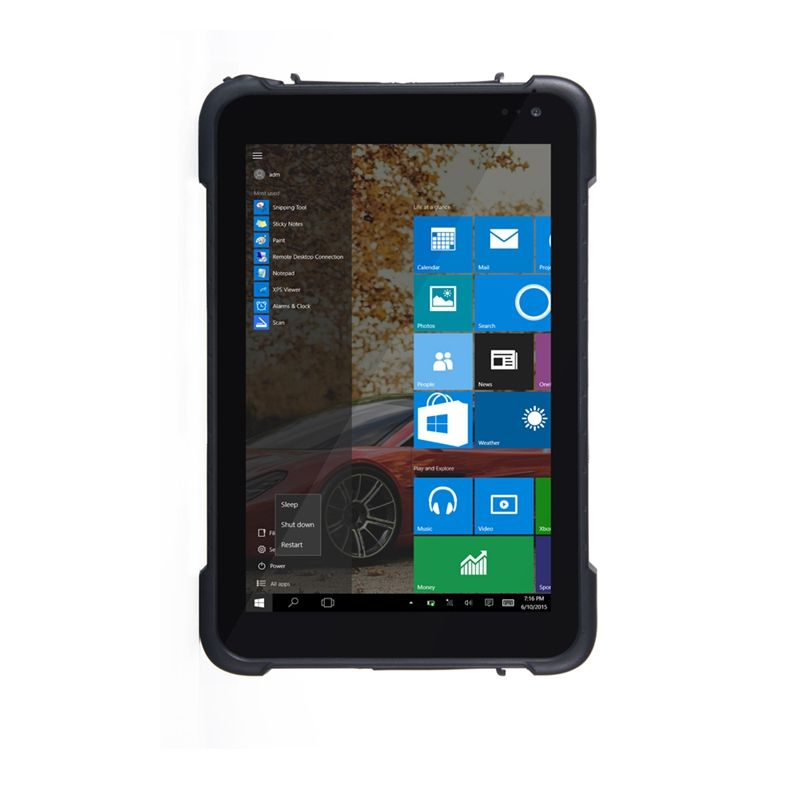 8 zoll Windows 10 home 3G standard layout RAM 2 GB ROM 32 GB Industrie Robusten Tablet PC ST86