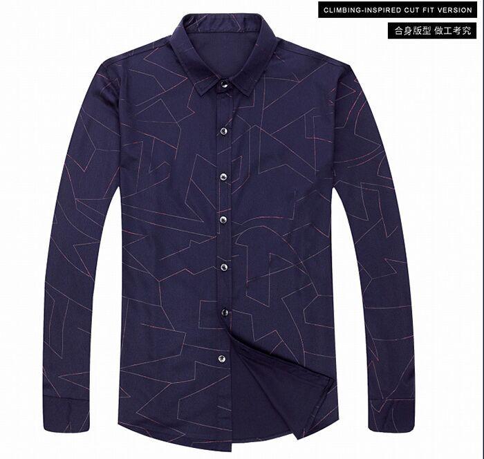 YSMILE Y #210 BAYER High grade shirts, 2017 autumn suits, new men's shirts, long sleeve business men's shirts, mercerized cotton