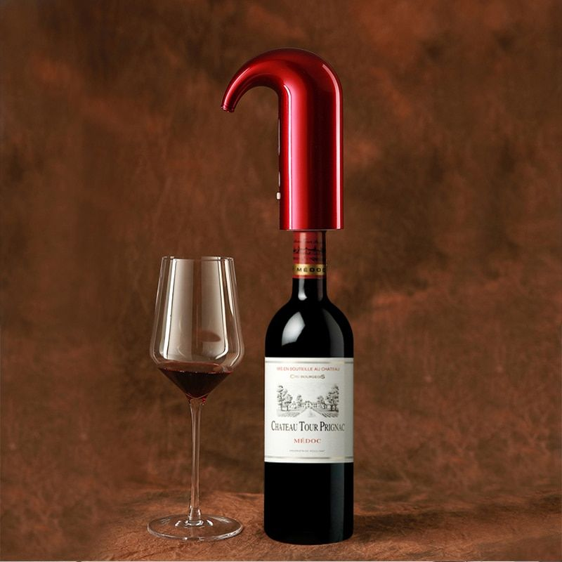 Electric Smart Wine Aerator Fast Decanter Magic Aerator Pourer Decanter High pressure oxygenation Auto Decanter Wine Accessories