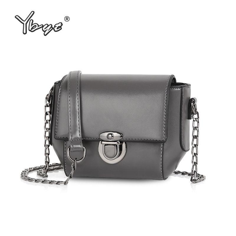 YBYT marque 2019 nouvelles femmes décontracté cuir petits paquets femme sac à provisions dames épaule messenger sacs à bandoulière