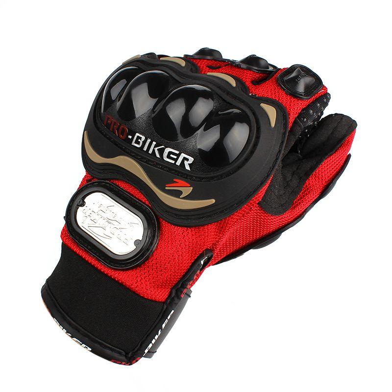 Men Women Motocross Windproof Mountain Bike Full Finger Motorcycle Racing Gloves Breathable Mesh Fabric Waterproof Hot