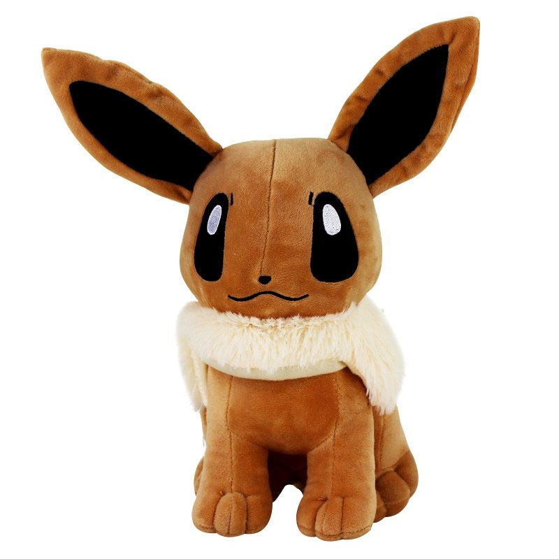 12 30cm Big Sitting Eevee Plush Toys Soft Stuffed Animals Toy Gift Plush Dolls For Kids Baby Gift Toys