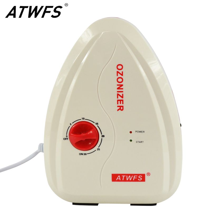 ATWFS Multifuctional 400mg/H Ozone Generator Water Ozone Fruit and Vegetable Washer Water Air Sterilizer Ozonizer