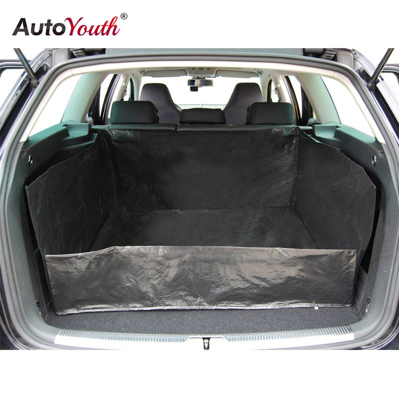 AUTOYOUTH PE Tarpaulin Car Trunk Mat Liner Waterproof Car Protection Blanket For more cleanliness in your car