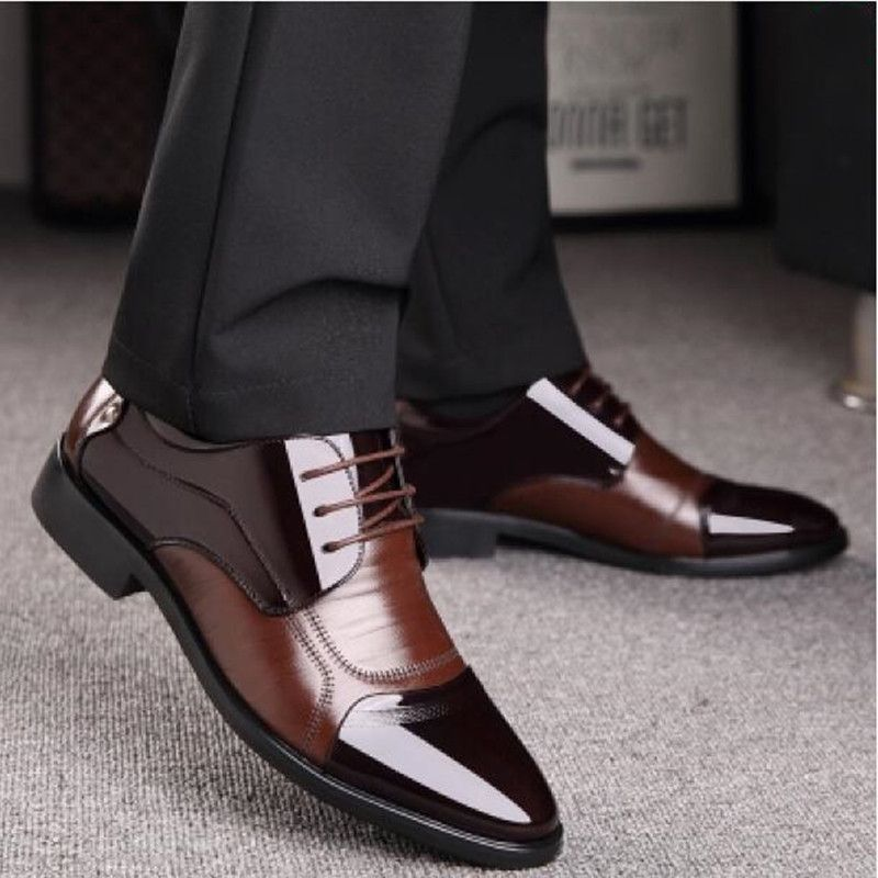New Spring Fashion Oxford Business Men Shoes Genuine Leather High Quality Soft Casual Breathable Men's Flats Zip Shoes