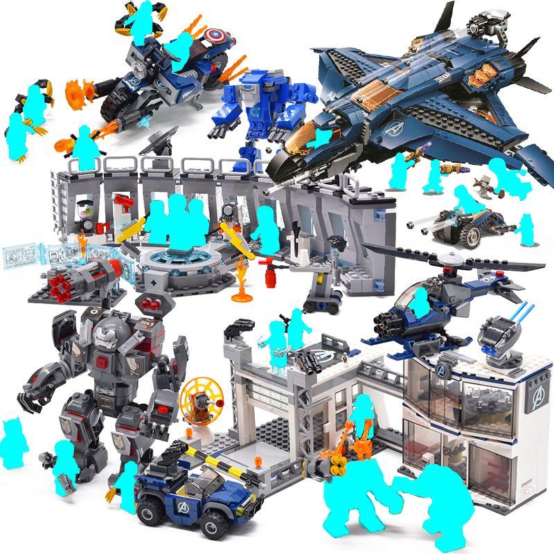Avengers 4 marvel avenger endgame figures 2 Super Heroes End Game Iron Man Thanos Spiderman Batman Building Blocks Toys