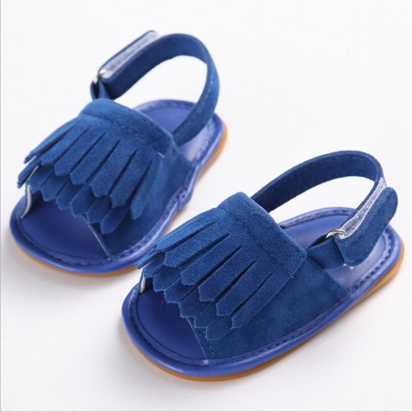 15 colors Toddler New Fashion baby Girls Soft Rubber Sole Baby First Walkers  Bebe  Sweet Shoes