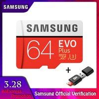 Samsung MicroSD карта 256 г 128 ГБ 64 ГБ 32 ГБ 16 ГБ 8 ГБ 100 МБ/с. Class10 U3 U1 карта памяти Micro SD карты TF флэш-карты