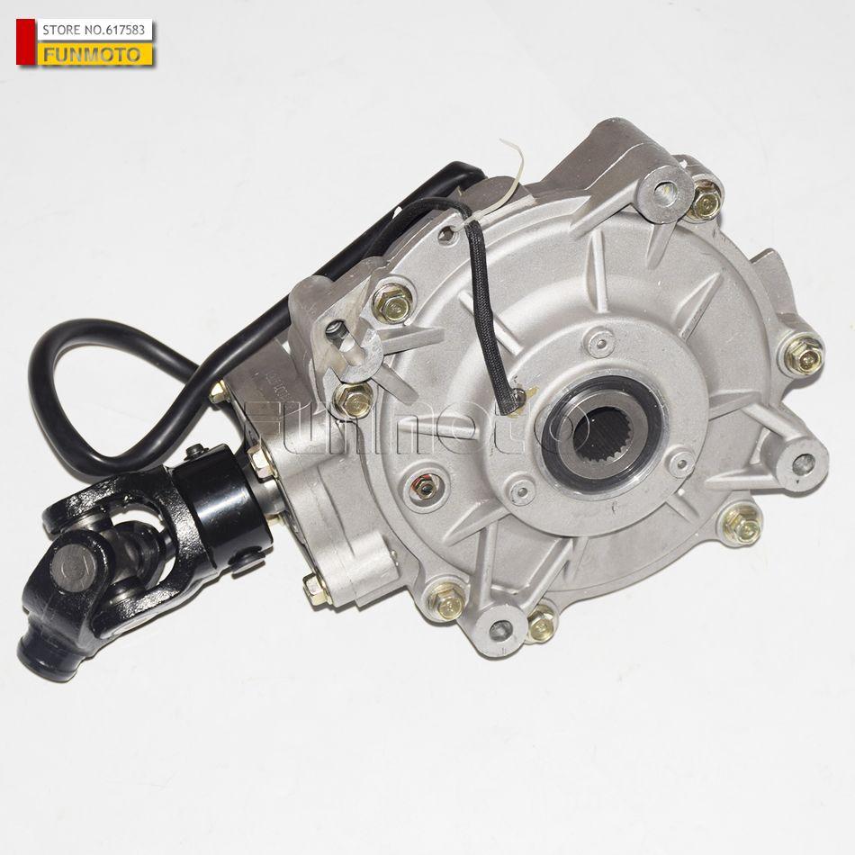 Front Defferentia/l vorne getriebe oder transimisson box von HISUN 800CC UTV alten teile nummer 27200-178-0000