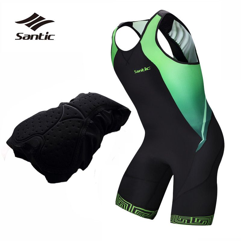 Santic Cycling Jersey 2018 Pro Team Men Triathlon Quick Dry Breathable Road Bike Jersey Cycling Skinsuit Bicycle Clothes