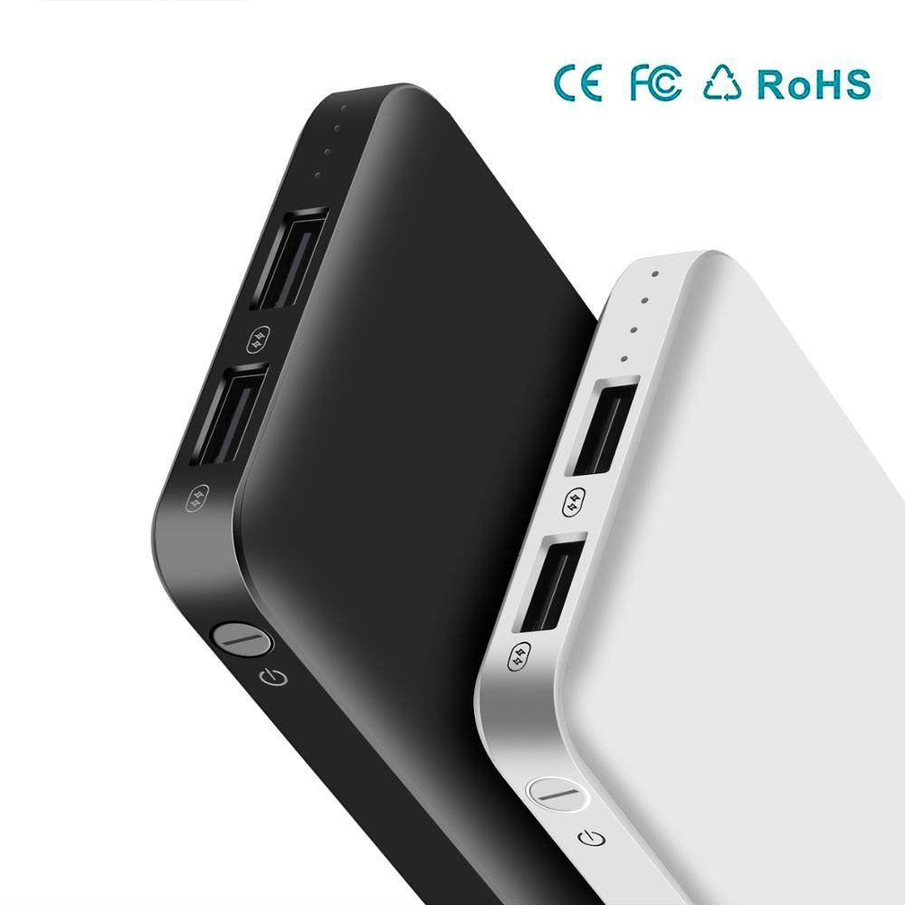 Batterie externe 10000 mAh chargeur de charge Portable 10000 mAh USB chargeur de batterie externe pour Xiao mi mi 9 8 iPhone