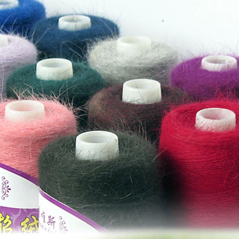 (100G/Roll) High Quality Fall and Winter Mink Cashmere Yarn for Knitting Wool Yarn Mink Yarn