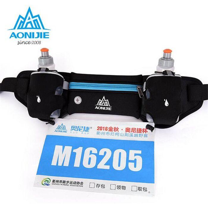 AONIJIE Mobile Téléphone Bouteille D'eau Ceinture Léger sac de Course En Plein Air Voyage Running Sport Taille Pack Hommes Femmes