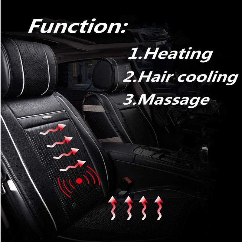 Chauffage Air Massage Multi-Fonction Triade Santé Voiture Coussin D'air-Conditionné Siège Coussin, Cheveux de refroidissement, Voiture style Pour Toutes Les Voitures