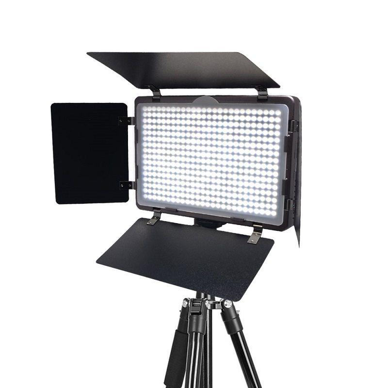 Mcoplus LED-410A ultradünne Studio Fotografie Video LED-Licht für Canon Nikon Pentax Panasonic Sony Samsung Olympus DSLR Kamera