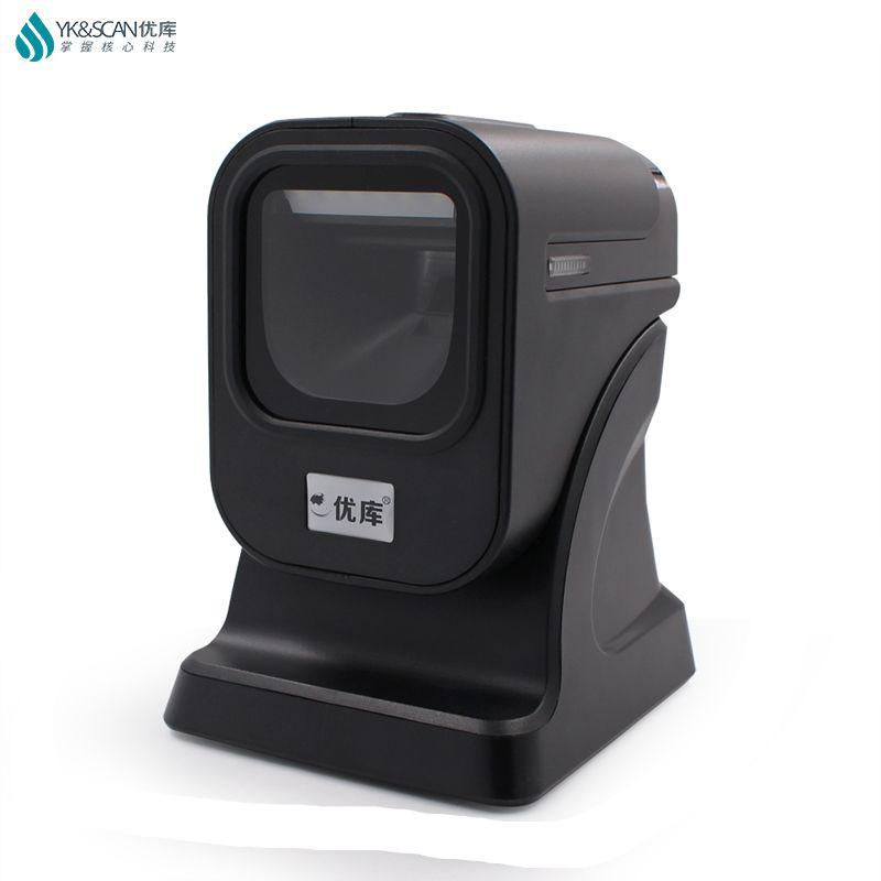 1D/2D/QR meilleur scanner de présentation lecteur de codes à barres omnidirectionnel PDF417 QR 1D GS1 Datamatrix pharma codes de cigarettes alcoolisées