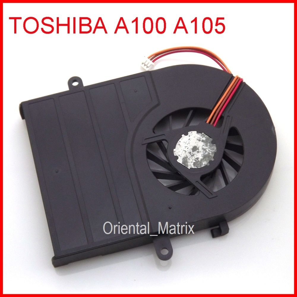 New UDQFZPR01C1N DC5V 0.24A Cooler Fan For Toshiba A100 A105 CPU Cooler Fan