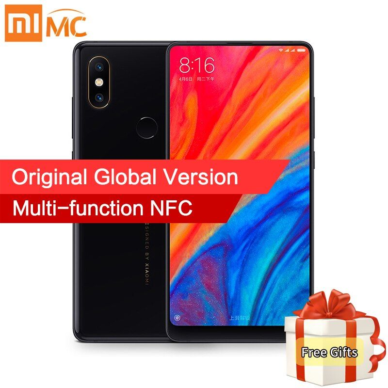 In Stock Global Version Xiaomi Mi Mix 2S 6GB 64GB Snapdragon 845 Face ID NFC 5.99