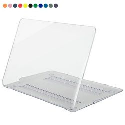 Ordinateur portable Cristal dur étui de protection couverture pour Apple macbook air pro retina 11 12 13 15 pouces transpanrent shell