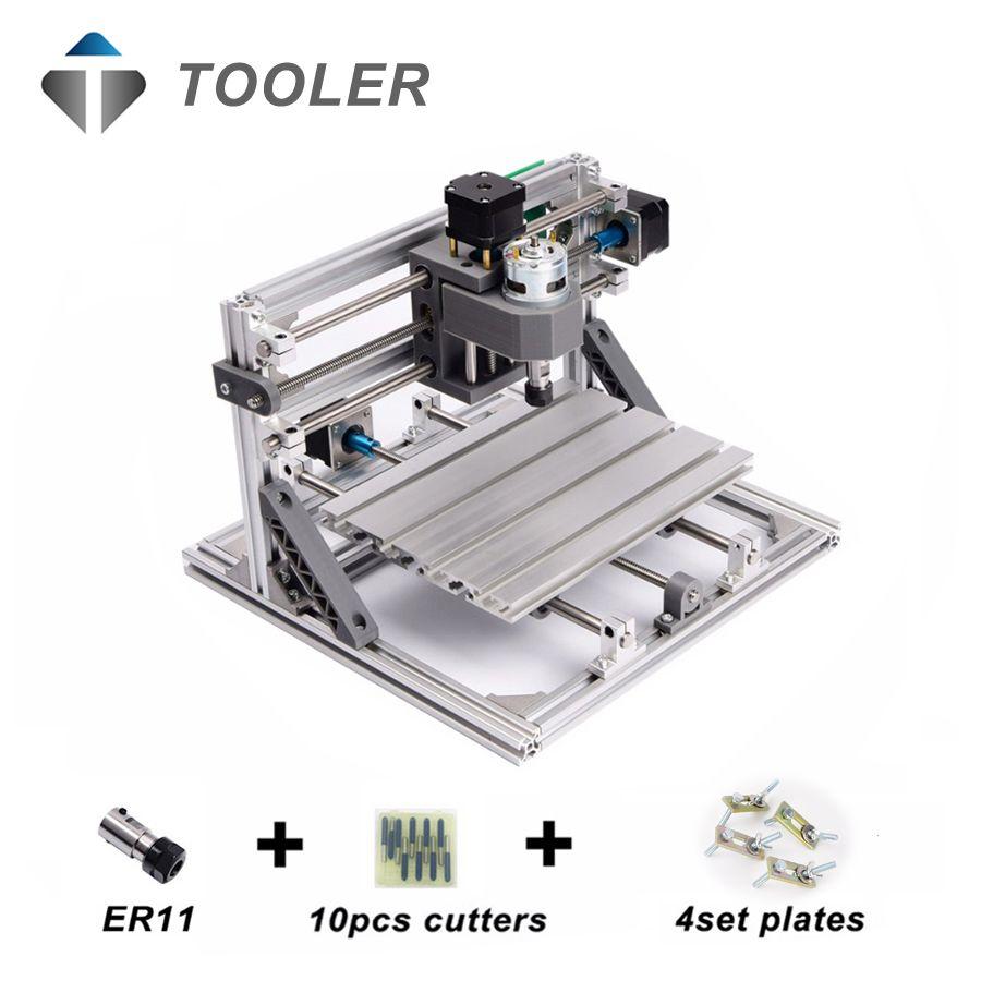 CNC 3018 avec ER11, bricolage mini CNC machine de gravure laser, Pcb fraiseuse, routeur de bois, gravure laser, CNC 3018, meilleur jouet